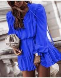 Φόρεμα - κώδ. 3231 - μπλε