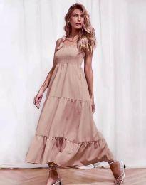 Φόρεμα - κώδ. 1729 - πούδρα