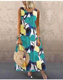 Φόρεμα - κώδ. 0083-2 - πολύχρωμο