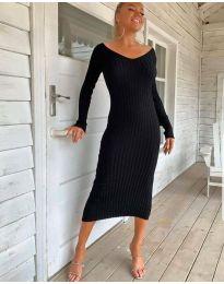 Φόρεμα - κώδ. 2333 - μαύρο