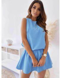 Φόρεμα - κώδ. 477 - γαλάζιο