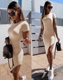 Φόρεμα - κώδ. 8391 - μπεζ