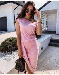 Φόρεμα - κώδ. 138 - ροζ