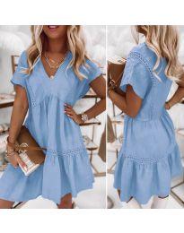 Φόρεμα - κώδ. 8978 - γαλάζιο