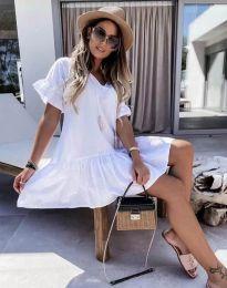 Φόρεμα - κώδ. 6144 - λευκό