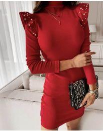 Φόρεμα - κώδ. 9494 - κόκκινο