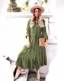 Φόρεμα - κώδ. 6522 - λαδί