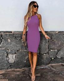 Φόρεμα - κώδ. 2720 - μωβ