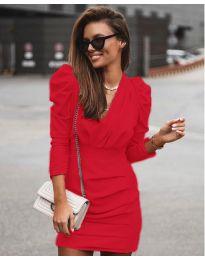 Φόρεμα - κώδ. 870 - κόκκινο