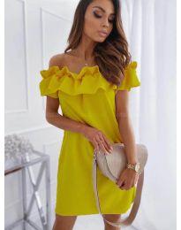 Φόρεμα - κώδ. 133 - κίτρινο