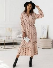 Φόρεμα - κώδ. 0836 - ροζ