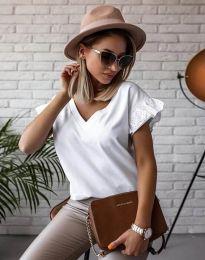 Κοντομάνικο μπλουζάκι - κώδ. 2922 - λευκό
