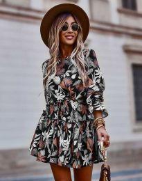 Φόρεμα - κώδ. 2983 - πολύχρωμο