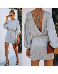 Φόρεμα - κώδ. 940 - γκρι