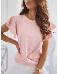 Κοντομάνικο μπλουζάκι - κώδ. 515 - ροζ