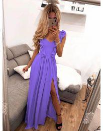Φόρεμα - κώδ. 673 - μωβ