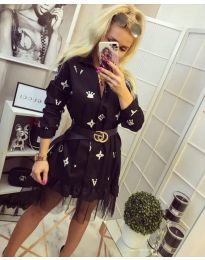 Φόρεμα - κώδ. 870 - μαύρο