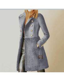 Παλτό - κώδ. 3100 - 4 - γκρι