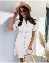Φόρεμα - κώδ. 742 - λευκό