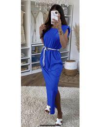 Φόρεμα - κώδ. 7049 - σκούρο μπλε