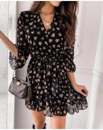 Φόρεμα - κώδ. 5258 - μαύρο