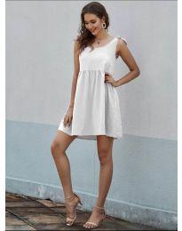 Φόρεμα - κώδ. 2255 - λευκό