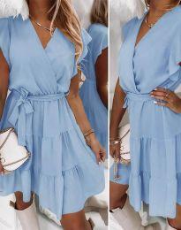 Φόρεμα - κώδ. 2345 - γαλάζιο