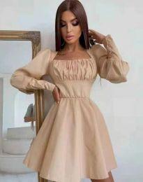 Φόρεμα - κώδ. 8150 - μπεζ