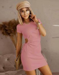 Φόρεμα - κώδ. 8556 - ροζ