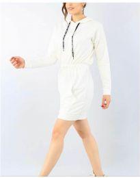 Φόρεμα - κώδ. 7315 - λευκό