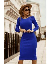 Φόρεμα - κώδ. 8485 - σκούρο μπλε