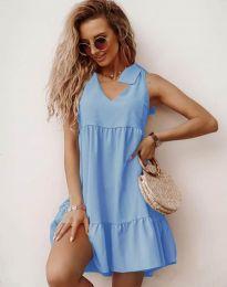 Φόρεμα - κώδ. 7206 - γαλάζιο