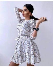 Φόρεμα - κώδ. 5910 - 1 - πολύχρωμο