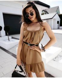 Φόρεμα - κώδ. 7768 - καπουτσίνο