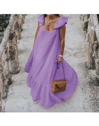Φόρεμα - κώδ. 9036 - μωβ