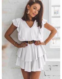 Φόρεμα - κώδ. 7173 - λευκό