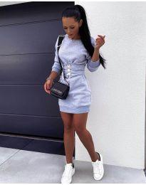 Φόρεμα - κώδ. 165 - γκρι