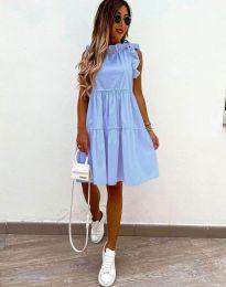 Φόρεμα - κώδ. 2663 - γαλάζιο