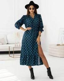 Φόρεμα - κώδ. 0836 - σκούρο μπλε