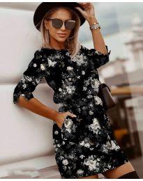 Φόρεμα - κώδ. 3060 - 2 - πολύχρωμο