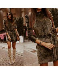 Φόρεμα - κώδ. 0722 - χακί
