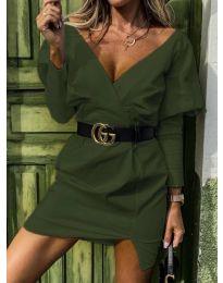 Φόρεμα - κώδ. 1617 - πράσινο