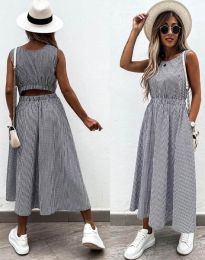 Φόρεμα - κώδ. 2687 - γραφίτη
