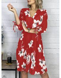 Φόρεμα - κώδ. 730 - κόκκινο