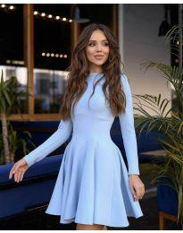 Φόρεμα - κώδ. 2320-  Γαλάζιο