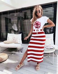 Φόρεμα - κώδ. 0232 - κόκκινο