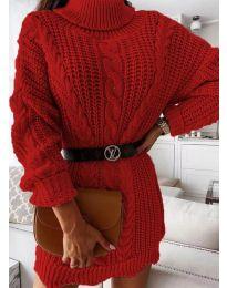 Φόρεμα - κώδ. 6071 - κόκκινο