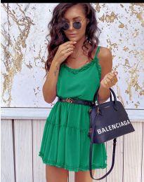 Φόρεμα - κώδ. 7758 - πράσινο