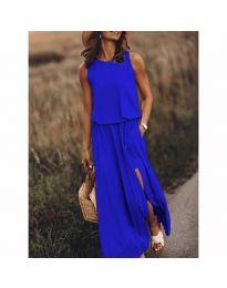 Φόρεμα - κώδ. 640 - μπλε