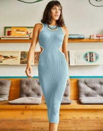 Φόρεμα - κώδ. 1358 - μπλε